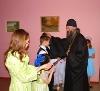 Владыка посетил «Теплый дом».