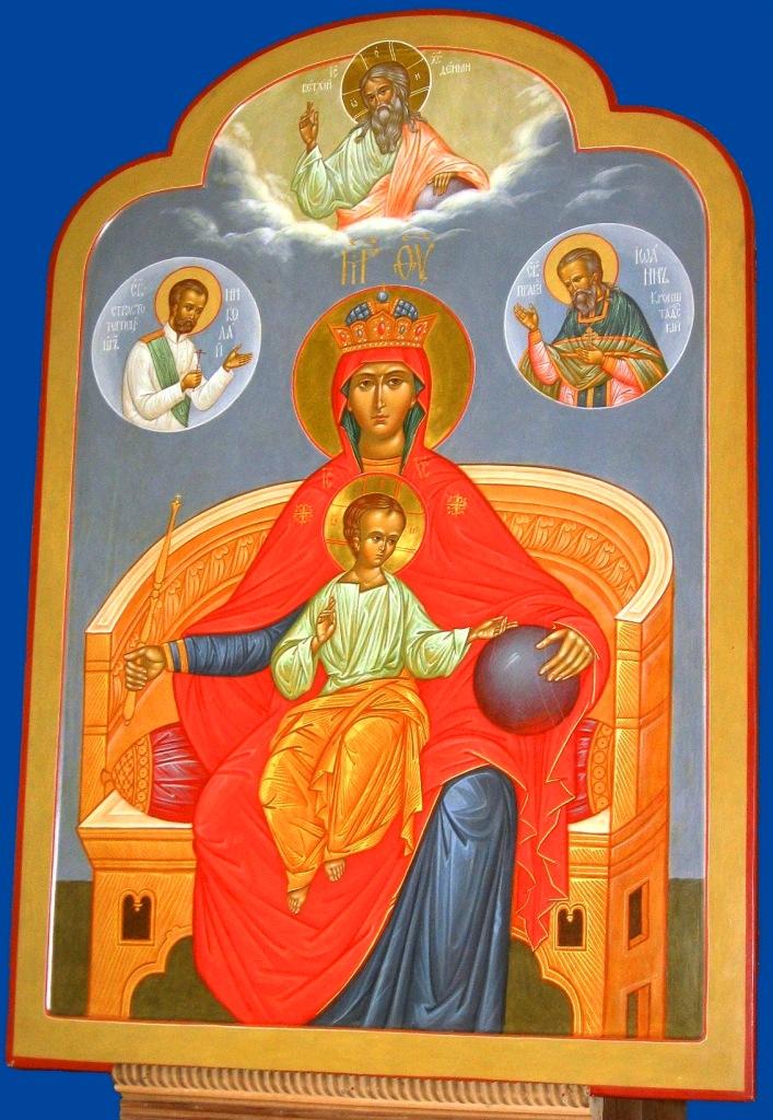 державная икона божией матери: