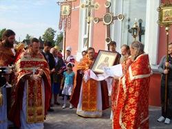 Крестный ход в Оршанке